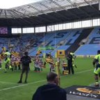 Wasps Guard of Honour