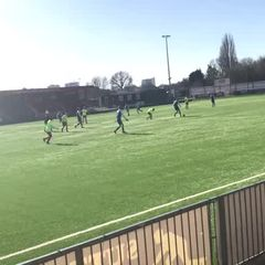 U16 goals away to Carlshalton