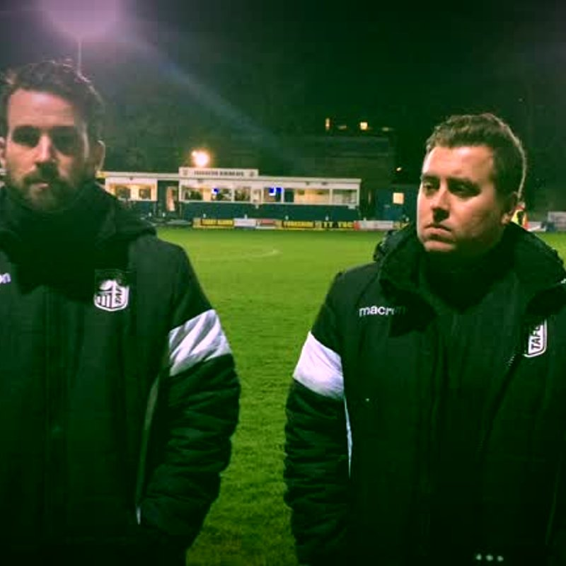 County Cup Reaction | Taddy 2-1 Silsden |