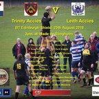 Trinity 12 v Leith 7  25-08-18