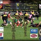 Trinity Accies 34 v 19 Queensferry RFC  01-09-18