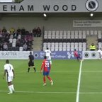 Phew! Grant Smith Saves Boreham Wood From Bizarre Own Goal