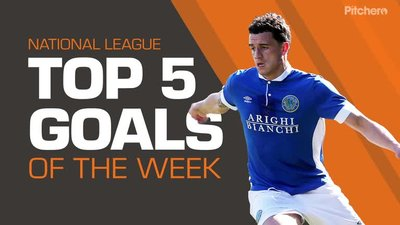 Top 5 Goals Of The Week - September 8th