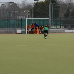 Penalty corner against Crowborough