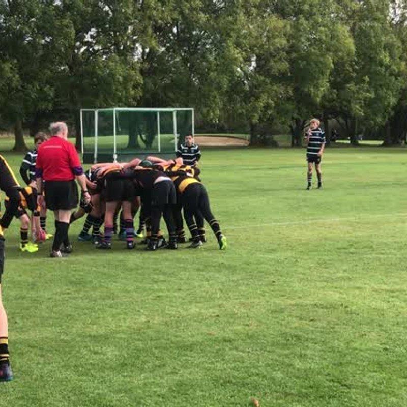 U12's at the Finborough tournament