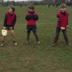Rugby Royale victory dance!