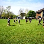 Vectis Under 9s Mini Rugby Festival try time!