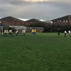 Kyran Freekick vs Larkhall