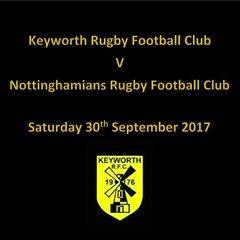 Team Selection Keyworth v Nottinghamians 30/9/2017