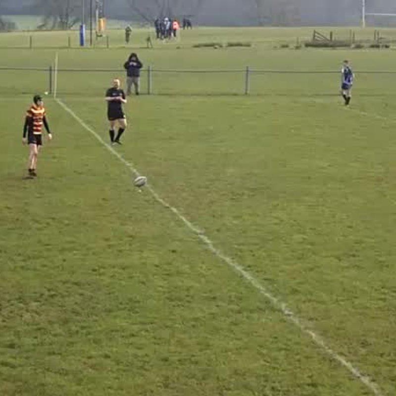 U16s Titans vs Latchford National Cup 2018