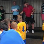 Ardley tournament presentation U9's