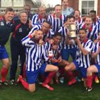 Cup Final celebration.