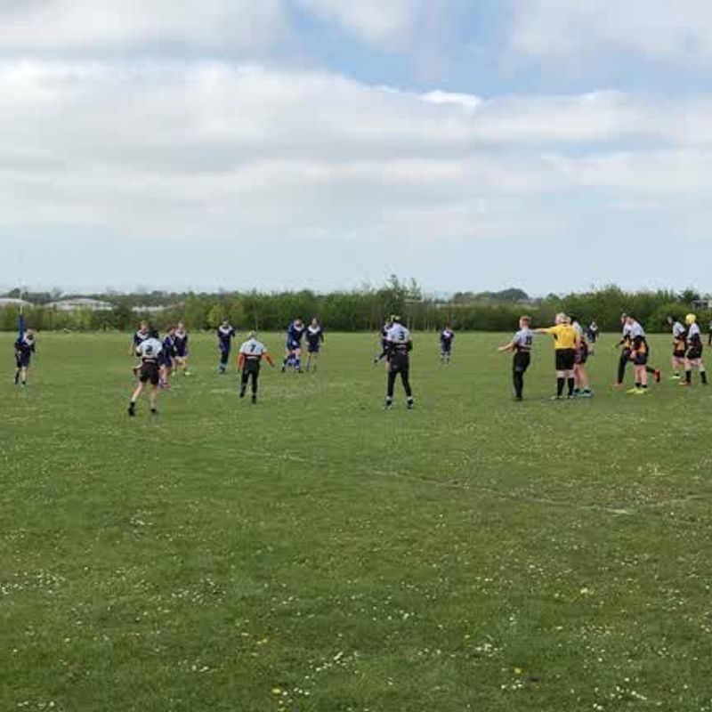 Build up to second try - 2017 Quarter Final Continuation Cup