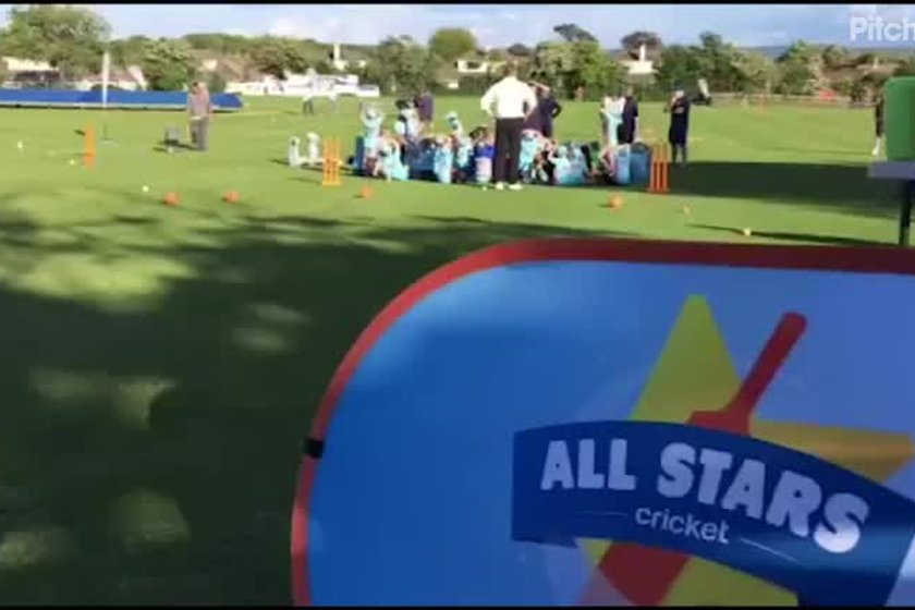 Clevedon CC All Stars Cricket programme 2017 highlights
