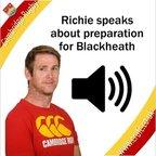 Richie speaks pre-Blackheath