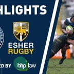 HIGHLIGHTS - Mowden Park v Esher