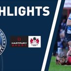 HIGHLIGHTS - DMP Sharks v Gloucester Hartpury 2018/19