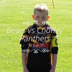 U7s Bears vs Chorley Panthers
