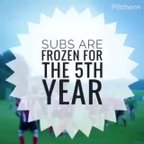 Subs Frozen Again!