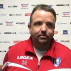Proud Stratford Town boss Thomas Baillie speaks after 10 man Blues beat Tamworth 2-1