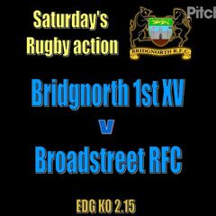 1st v Broadstreet RFC