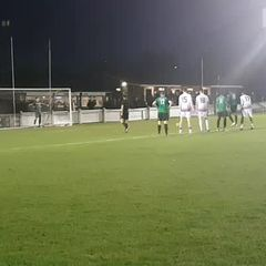Alex Teniola penalty v Hastings United