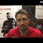 Grantham's goal scorer interview