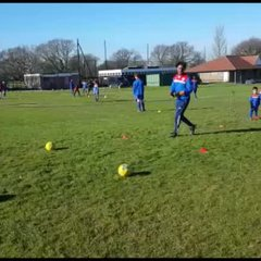 Peckham Town FC U6 - U7  Training Video