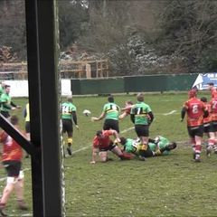 Try 1 vs Lydney - Chris Wilson