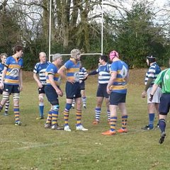 Egham Hollowegians vs Haslemere 28-01-2017