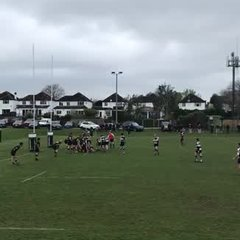 Final moments of Trings win over Sutton & Epsom