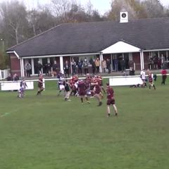 2nd XV Final Try v Clitheroe