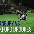 Banbury Bulls vs Oxford Brookes Highlights