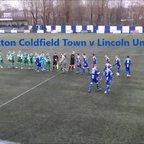 Sutton Coldfield Town v Lincoln  United