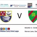 Ealing CC - 1st XI vs Stanmore CC - 1st XI