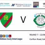 Ealing CC 1st XI vs Teddington CC 1st XI