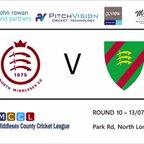North Middlesex CC 1st XI vs Ealing CC 1st XI