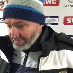 Longridge Town 4-0 Cleator Moor Celtic: The Manager's Thoughts