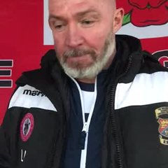 Longridge Town 8-1 Atherton LR: The Manager's Thoughts