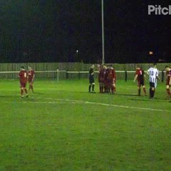 Lewis hammers home a free kick