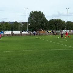 Ross hits the only goal v Wantage
