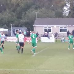 Lewis heads home against Holmer Green