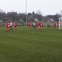 Thommo nets the winner v Fairford