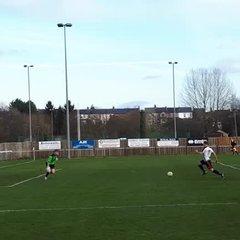 Lewis Halford pokes home v Ascot