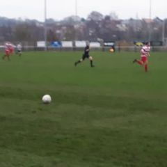 Tom Maxted scores against Cheltenham Civil Service