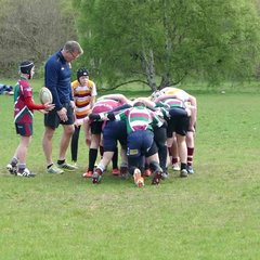 U13 try against Moortown 23 Apr 17