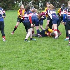 U13 Girls v Old Bordleians & Doncaster 29 Apr 18