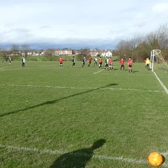 U13 v Horbury 26 Feb - Mathew goal