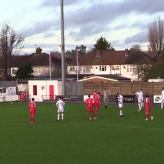 Highlights: Harrow Borough 5 Farnborough 0