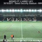 Widnes FC Vs Abbey Hey (30.10.17)